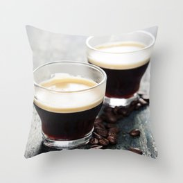 Coffee. Coffee Espresso. Cup Of Coffee Throw Pillow