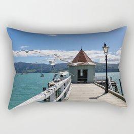 Akaroa, New Zealand Rectangular Pillow