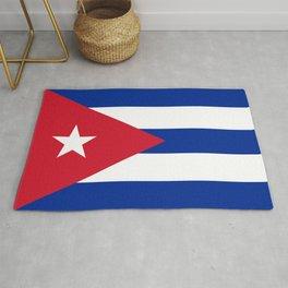 Cuban Flag Rug