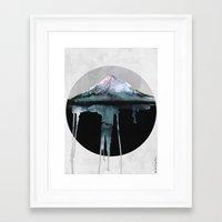 island Framed Art Prints featuring The Island | by Dylan Silva & Georgiana Paraschiv by Georgiana Paraschiv