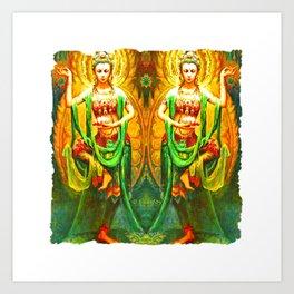 Goddess (3) Art Print