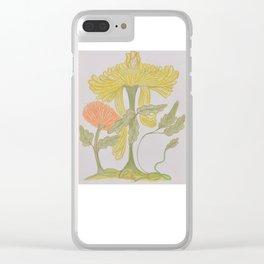 Flor De Fantasias Chrysanthemum Clear iPhone Case