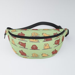Chow Chow Yoga Fanny Pack