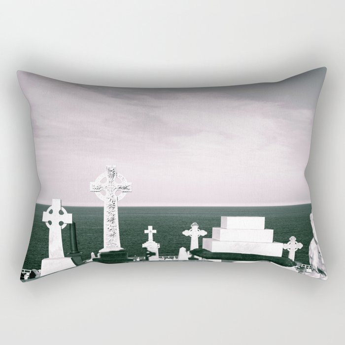 A place to rest by the ocean Rectangular Pillow