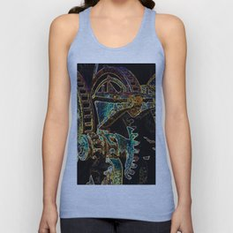 Corroded Gears Unisex Tank Top