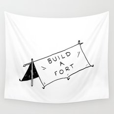 Build a fort Wall Tapestry