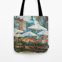 Lviv city center Tote Bag