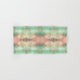 Mozaic design in soft pastel colors Hand & Bath Towel