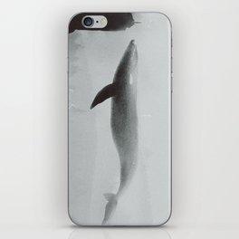 Flying Whale iPhone Skin