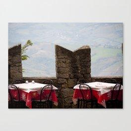 Overlooking San Marino Canvas Print