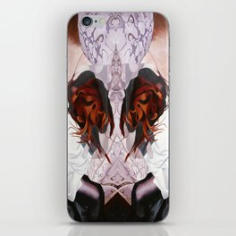 the flask the flutter iPhone Skin