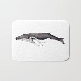 North Atlantic Humpback whale Bath Mat
