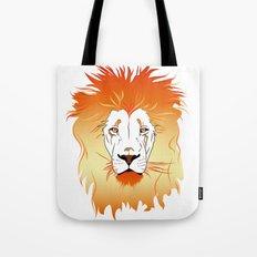 Fire Lion Tote Bag