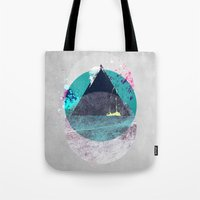 minimalism Tote Bags featuring Minimalism 10 by Mareike Böhmer