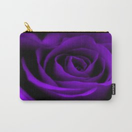 A Purple Rose Carry-All Pouch