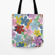 Cherry Blossom Colour - In Memory of Mackenzie Tote Bag