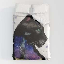 Galaxy Panther Comforters