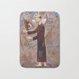 Francis of Assisi Francisco Juan Manuel Rocha Kinkin Bath Mat