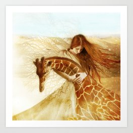 Adagio Art Print