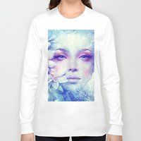 friday Long Sleeve T-shirts featuring December by Anna Dittmann