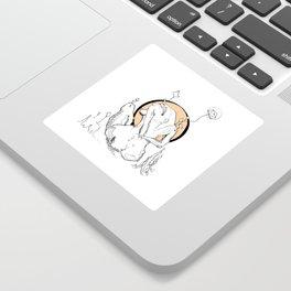 Laxin' Sticker