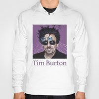 tim shumate Hoodies featuring Tim Burton by Pazu Cheng