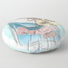 Handle with Care Floor Pillow