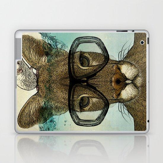 Skuba Roo and a white mouse Laptop & iPad Skin