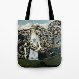 Serpents and Mountains Tote Bag
