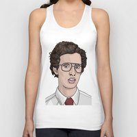napoleon Tank Tops featuring Napoleon Dynamite  by Steph Bourne