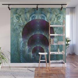 """Space purple Fantasy"" Wall Mural"