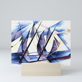 Sail In Two Movements After Charles Demuth Mini Art Print
