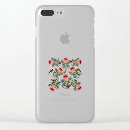 Protea Sunbird Clear iPhone Case