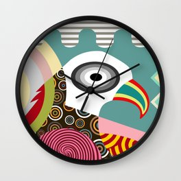 THE WISE EAGLE Wall Clock