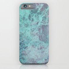 Green Purple Marble iPhone 6s Slim Case