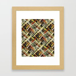 Tribal Abstracts 3 Framed Art Print