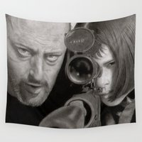 leon Wall Tapestries featuring Leon by Giampaolo Casarini