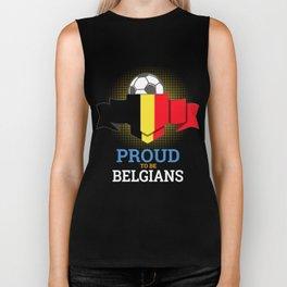 Football Belgians Belgium Soccer Team Sports Footballer Goalie Rugby Gift Biker Tank