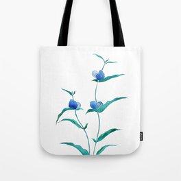 spreading dayflower Tote Bag
