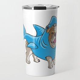 Bulldog Shark Travel Mug