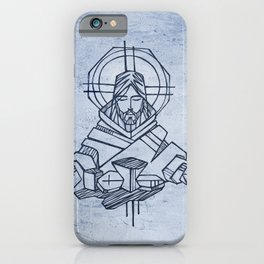 Jesus at Last Supper iPhone Case