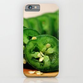 Jalapeno Pepper iPhone Case