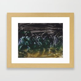 Savage Mountains Framed Art Print