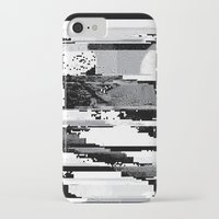 glitch iPhone & iPod Cases featuring Glitch by poindexterity