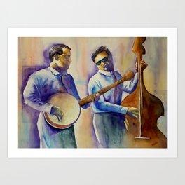Musician Series I:  Ragtime Art Print