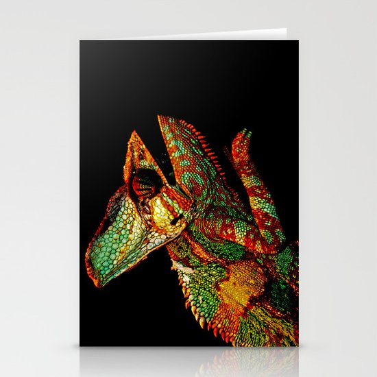 KARMA CHAMELEON Stationery Cards