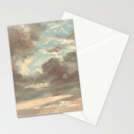 Cloud Study by John Constable 1821 Stationery Cards