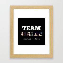 Malec Framed Art Print
