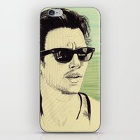 james franco iPhone & iPod Skins featuring James Franco by beecharly