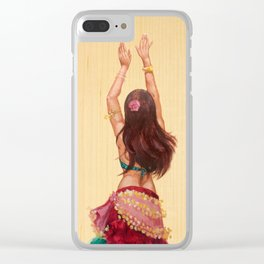 Bellydancer Clear iPhone Case